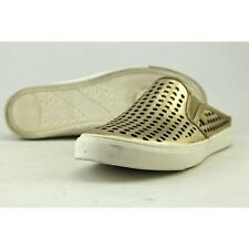 G By Guess Obsess Women US 6 Gold Sneakers Pre Owned  1519