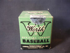 Worth Official Little League Playing Baseball W/ Original Box SEALED