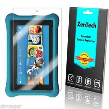 """2X ZenTech Clear Screen Protector Guard For Amazon Fire Kids Edition 7"""" (2015)"""