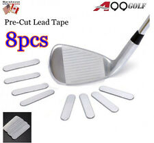 8pcs A99 Weighted Lead Tape Add Power/Weight on Golf Tennis Racket Iron Putter
