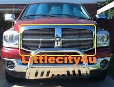 FOR 2006 07 08 Dodge Ram 1500 2500 3500 Billet Grille Grill  Inserts 2pcs