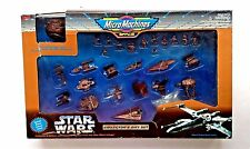 Micro Machines Star Wars Collectors Gift Set - 27 Bronze Figures & Vehicles NIB