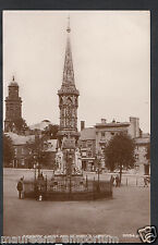 Oxfordshire Postcard - Banbury Cross and St Mary's Church  S206
