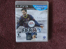 FIFA 14 (Sony PlayStation 3, 2013)  rated:E Manual and case included