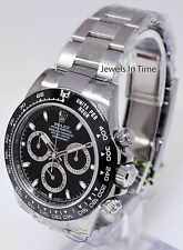 Rolex NEW Daytona Chronograph Steel & Ceramic Watch Black Box/Papers 116500LN