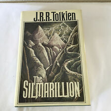 The Silmarillion by J. R. R. Tolkien 1977 First American Edition with MAP HC DJ