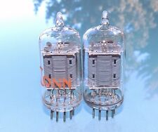 Pair RCA 12AU7A / ECC82 clear top, one NOS matched pair tubes