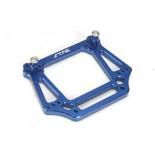 STRC Front Shock Tower Aluminum Blue for Traxxas Rustler 2WD ST3639B