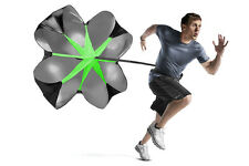 "Speed Training Resistance 48"" Running Drill Speed Chute Parachute Sprint Fitness"