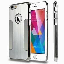 Aluminum Ultra Thin Metal Brushed Chrome Case Cover Skin for iPhone6 /s /6plus