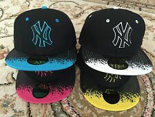 Wholesale Job Lot Of 5 X Unisex Snapback Cap Hat Hip hop Baseball Cap Uk