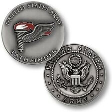 NEW United States U.S. Army Pathfinder Torch Challenge Coin. 48687.