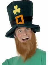 Unisex Leprechaun Top Hat & Beard St Patrick's Day Irish Fancy Dress Accessory
