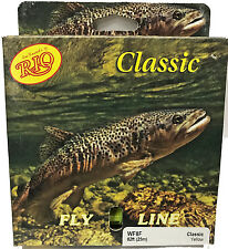 Rio Classic WF8F Fly Line - Yellow - New in Box - Free US Shipping