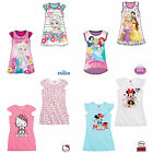 Girls Nightdress Nightgown Nightie Pyjamas Kids Official Age 2-10 Years