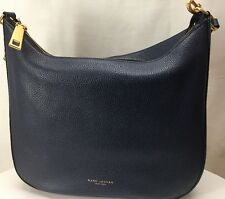 New Marc Jacobs Gotham City Large Hobo Bag Midnight Blue M00008287