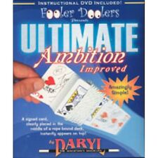 ULTIMATE AMBITION IMPROVED DVD, ROPE, GIMMICK BICYCLE BY DARYL MAGIC CARD TRICKS