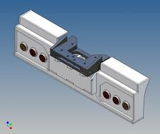 HS3F3 - Heckstoßstange für TAMIYA LKW 1:14 3-Achser für 2x3 Fechtner Leuchten