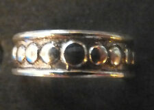 SOLID SILVER TOE RING, circles design *BN* good quality, sturdy toe ring
