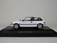 HONDA 4th CIVIC (EF) 1987  White  1:43 FIRST:43 MODELS / KB NEW