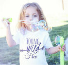 Toddler Kids Baby Bos Girl Cotton Short Sleeve T-shirt Tops Tees Clothes Outfits