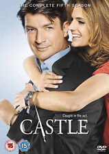 CASTLE - SEASON 5 - DVD - REGION 2 UK