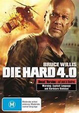 Die Hard 4.0 (DVD, 2009) PRE OWNED PAL 4