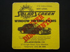 SOLAR SCREEN WINDOW TINTING FILMS 37 PRINGLE RD FAIRY MEADOW 042 841344 COASTER
