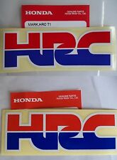 GENUINE Honda CBR125 CBR500R CBR600R CBR1000R HRC Decal Stickers *GENUINE HONDA*