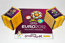 PANINI EM EURO 2012 – 200 cartocci packets + ALBUM VUOTO album International Version