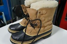 Sorel Men's Kaufman Caribou Winter Snow Boots Size 13 Made in Canada