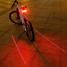 Télécommande sans fil LED Laser Lampes de Vélo lumière clignotants Arrière Bike