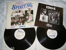 2 LP - The Spirit of The 60s 1964 Booklet - Animals Kinks Searchers - UK 1990