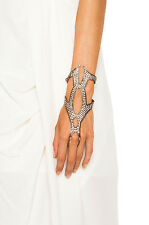**LIONETTE BY NOA SADE** Marsalis Glove Hand Ring Bracelet
