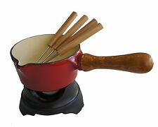 NEW Paderno World Cuisine Professional Red/Black Butter Warmer
