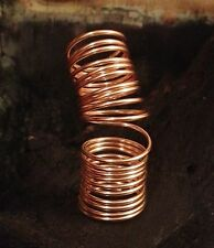 Gold Filled Wire Wrap Ring - Full Finger