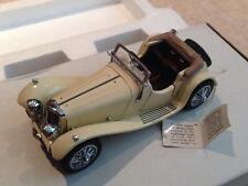 Franklin Mint B11JJ56 1938 Jaguar SS 100 diecast car 1:24 NMIB