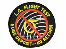 USAF Air Force B-2 Black Ops Area 51 Lo Observables Flight Test Groom Lake Patch