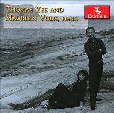 Thomas Yee and Maureen Volk, Piano Four  Hands:, New Music