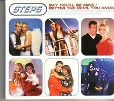 (CK461) Steps, Say You'll Be Mine / Better The Devil You Know - 1999 CD