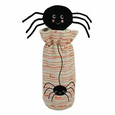 NWT Celebrate Halloween Together Spider Wine Bottle Cover