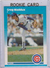 GREG MADDUX ROOKIE CARD 1987 Fleer Update BASEBALL RC Chicago Cubs Atlanta Brave