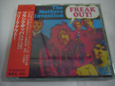 THE MOTHERS OF INVENTION-Freak Out! JAPAN 1st.Press w/OBI Frank Zappa Pink Floyd