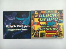 BLACK GRAPE - IN THE NAME OF THE FATHER + ENGLAND'S IRIE PROMO CD HAPPY MONDAYS