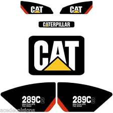 247C2 246C2 272C2 289C2 299C2 Decals Stickers Kit Skid loader