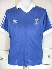 VTG PLATINI FRANCE WORLD CUP 1982 ORIGINAL RETRO FOOTBALL SHIRT SOCCER MAILLOT L