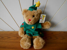 CHRISTABELLE gorgeous teddy bear soft toy in Christmas Tree outfit MARY MEYER