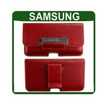 GENUINE Samsung GALAXY S GT i9000 LEATHER CASE original smartphone pouch cover