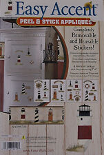 Easy Accents Lighthouses Peel & Stick Wall Appliques - HAH1621