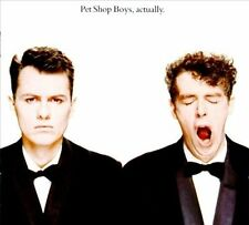 PET SHOP BOYS: ACTUALLY [What Have I Done to Deserve This?,It's a Sin,Heart++]